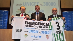 For Nepal: Sevilla and Betis unite